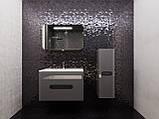 Кутова шафа для ванної кімнати Prato PrP-100 дуб трюфель, фото 3