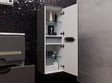 Кутова шафа для ванної кімнати Prato PrP-100 дуб трюфель, фото 6