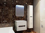 Шафа в ванну кімнату вологостійка Prato PrP-170 дуб трюфель, фото 7
