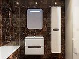 Шафа в ванну кімнату вологостійка Prato PrP-170 дуб трюфель, фото 8