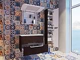 Шафа в ванну кімнату вологостійка Prato PrP-170 дуб трюфель, фото 10