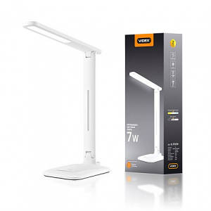 LED лампа настільна Videx VL-TF02W white