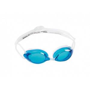 Bestway Окуляри для плавання 21071 ( 21071(Blue) Синій регулир.ремінець, у футлярі)