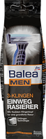 Одноразовые мужские станки для бритья 3 лезвия  Balea men 3-Klingen 8 шт.