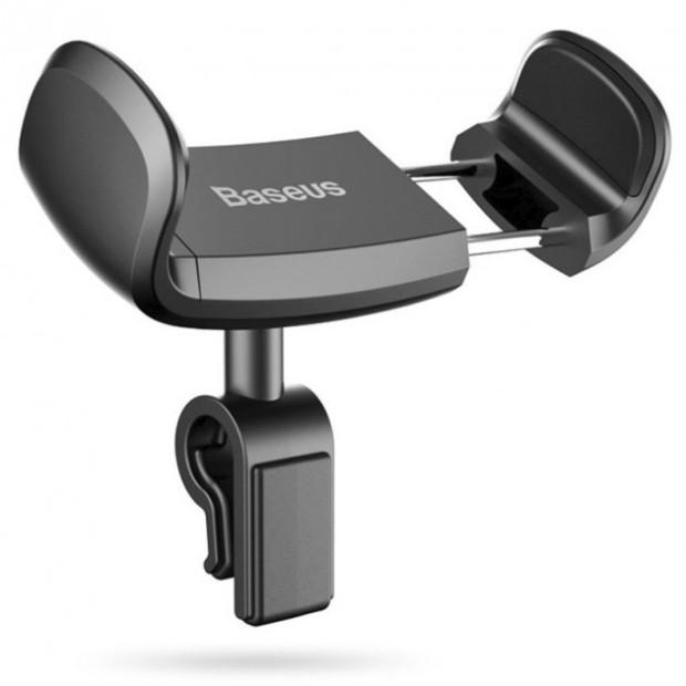 Тримач для телефону в машину Baseus SUGX-01 Stable Series, чорний