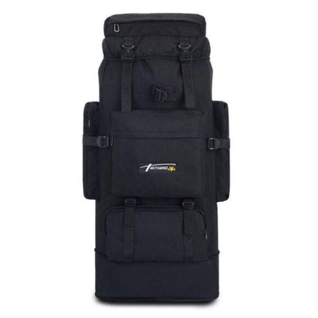 Рюкзак туристичний похідний ZX1905 70 л, чорний
