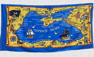 Рушник пляжний Пірати Чорного моря