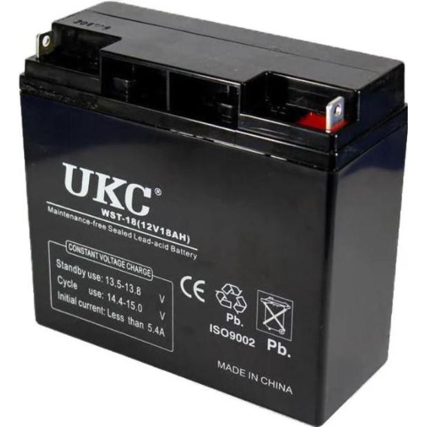 Акумулятор UKC Battery WST-18 12V 18A