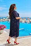 Платье с цветочным принтом (Батал), фото 5