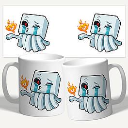 "Чашка/Гуртка з принтом майнкрафт ""Minecraft"""