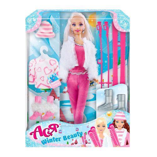 """Детская Кукла """"Ася"""" (горнолыжный курорт) 35129"""