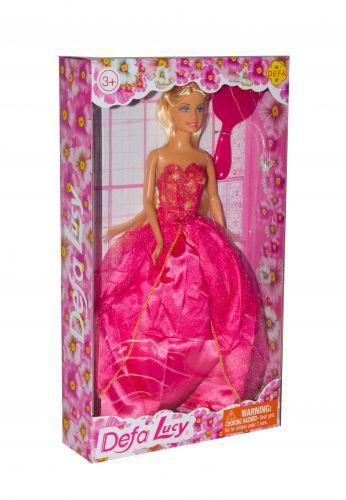 """Игрушка Кукла в пышном бальном платье """"Defa Lucy"""" Принцесса (в красном) 8291"""