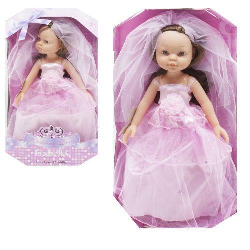 """Детская Кукла """"Невеста"""", в розовом RT102"""