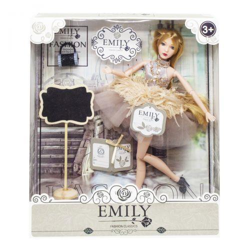 """Дитяча шарнірна лялька """"Emily Fashion Classics"""" QJ090"""