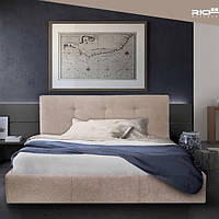Двуспальная кровать с мягким изголовьем Манчестер ТМ Richman