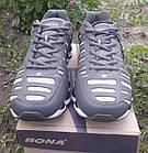 Кроссовки кожа + сетка Bona р.45, фото 4