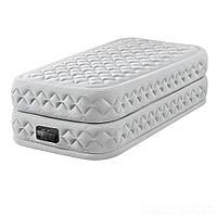 Надувне ліжко двоспальне з вбудованим насосом Intex 64470