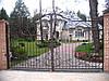 Распашные кованные ворота