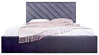 Двуспальная кровать с мягким изголовьем Чикаго ТМ Richman, фото 1
