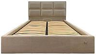 Двуспальная кровать с мягким изголовьем Шеффилд 2 ТМ Richman