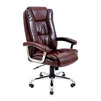 Офисное кресло руководителя Калифорния Ю, крестовина Хром, ТМ Richman