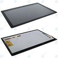 Дисплей для Lenovo Tab E10 TB-X104F Wi-Fi, модуль (экран и сенсор), черный, оригинал