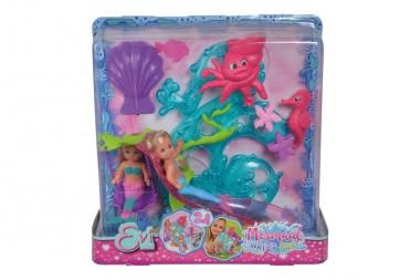 """Ляльки русалоки Еві """"Морські розваги"""", Simba"""