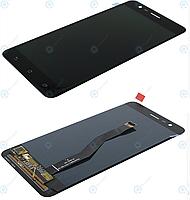 Дисплей для Asus ZenFone 3 Zoom ZE553KL (Z01HD, Z01HDA), модуль (экран и сенсор), черный, оригинал