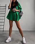 Жіночий костюм, софт, р-р С; М; Л; ХЛ (зелений), фото 2