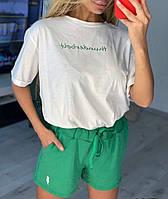 Костюм жіночий з шортами 46184