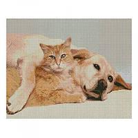 Алмазная картина FA10165 Дружба старых друзей 40х50 см STRATEG (FA10165)