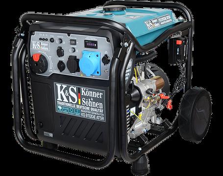 Інверторний Генератор Konner&Sohnen KS 8100iE ATSR (8 кВт), фото 2