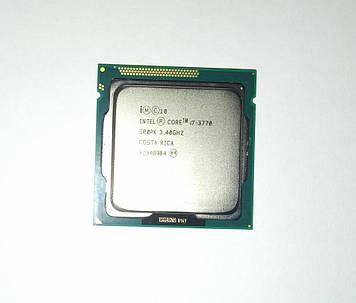 Процессор Intel Core i7-3770 3,40 GHz 4 Ядра 8 Потоков/8 MB кеш/HD Graphics 4000/s1155