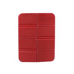 Складной коврик сидушка WWAGO Red каремат портативный туристический 38,5*27,5 см