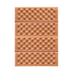 Туристичний складаний килимок сидушка Lesko Shanpeng Orange каремат для туризму 38,5*28*1 см