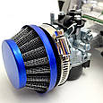 Двигун для дитячого квадроцикла, минибайка TUNING, 2Т 50сс, фото 7