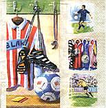 Декупажная салфетка Футбол 5505, фото 2