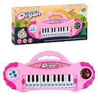 Детское пианино 8012 свет, звук, на батарейках, в коробке