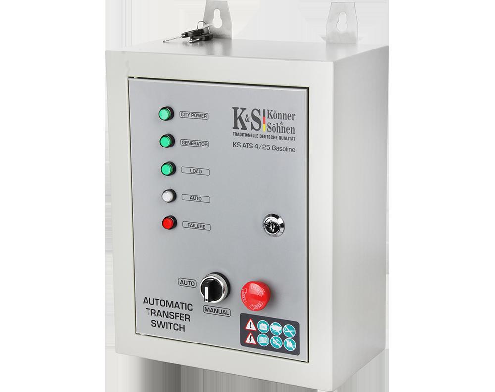 Блок автоматики Konner&Sohnen KS ATS 4/25 Gasoline