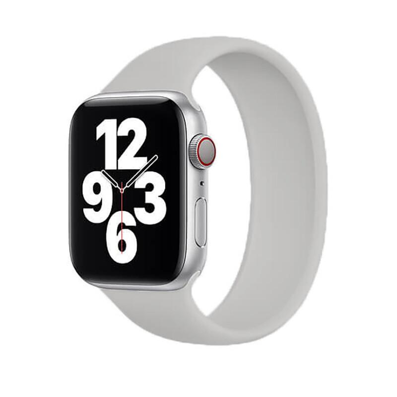 Силиконовый монобраслет Solo Loop Midnight Blue для Apple Watch 38mm   40mm Size S