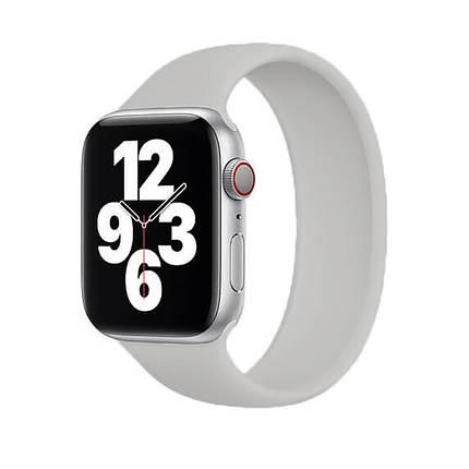Силиконовый монобраслет Solo Loop Midnight Blue для Apple Watch 38mm   40mm Size S, фото 2