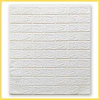 Декоративные стеновые панели 3D под Кирпич 700*770*5мм 3д моющиеся влагостойкие для спальни ванной