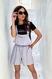 Комбинезон женские брендовый Seventeen низ шорты (3 цвета, р.S-M,L-XL), фото 2