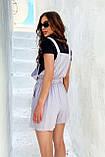 Комбинезон женские брендовый Seventeen низ шорты (3 цвета, р.S-M,L-XL), фото 4