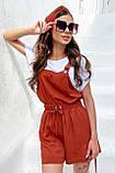 Комбинезон женские брендовый Seventeen низ шорты (3 цвета, р.S-M,L-XL), фото 5