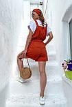 Комбинезон женские брендовый Seventeen низ шорты (3 цвета, р.S-M,L-XL), фото 7