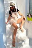 Комбинезон женские брендовый Seventeen низ шорты (3 цвета, р.S-M,L-XL), фото 8