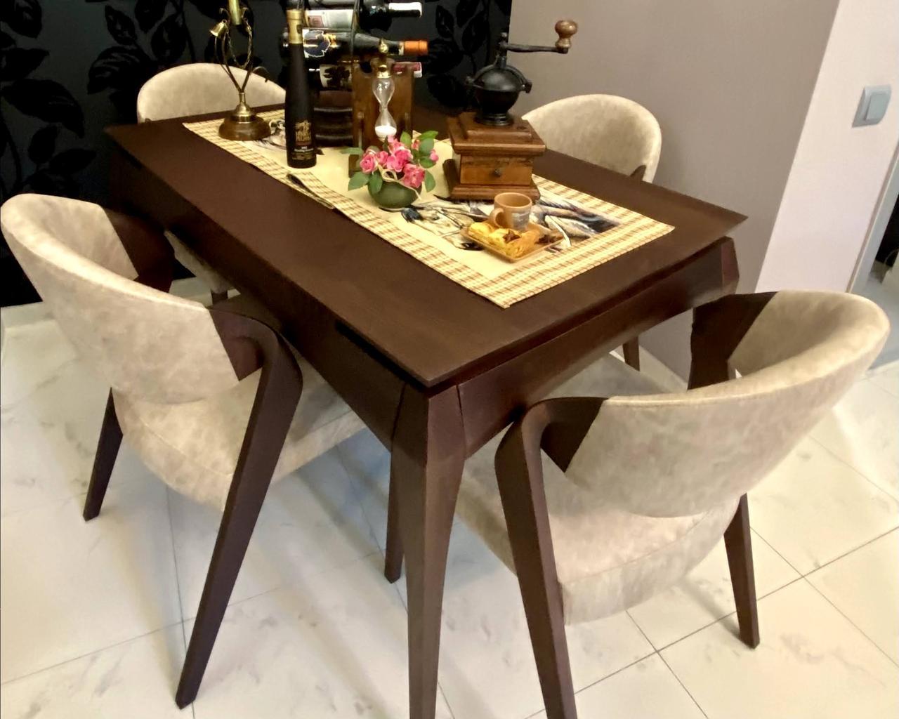Комплект стіл + 4стула