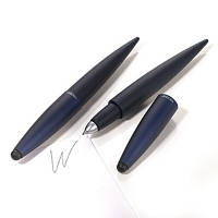 Ручка шариковая со стилусом Troika Комфорт, синяя