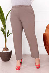 Батальні жіночі штани на гумці